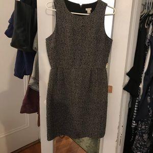 Jcrew factory herringbone dress sz 4